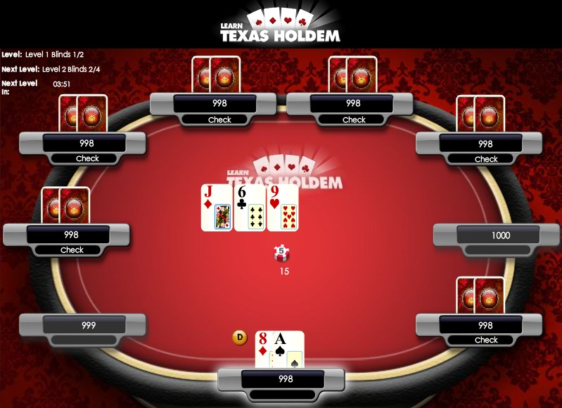 Learn_Texas_holdem_poker